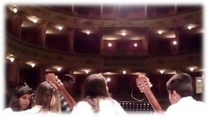 Spettacolo-concerto con gli allievi della Scuola media di Valenza (AL)