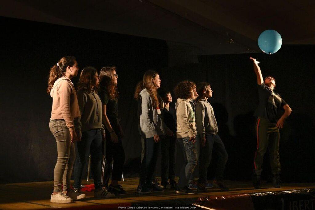 laboratorio teatrale per ragazzi delle scuole superiori a chiavari
